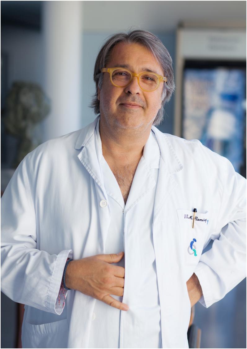 Доктор Жузеп Мария Рамирес, нейрореабилитации спинного и головного мозга.